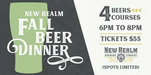 New Realm Beer Dinner