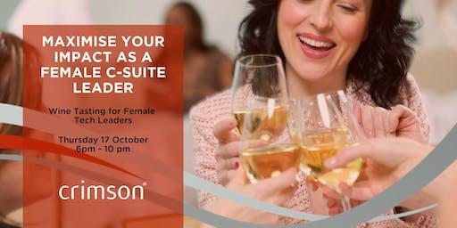 Women in Tech Leadership Wine Tasting
