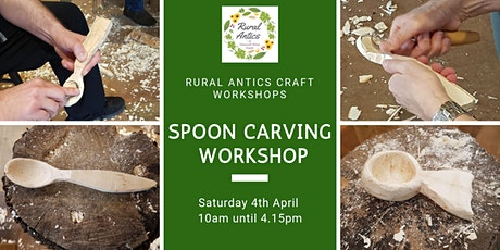 Beginners Spoon Carving tickets
