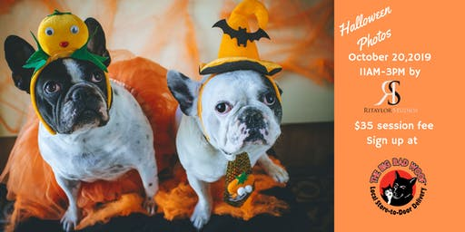 Pet Halloween Photo Shoot