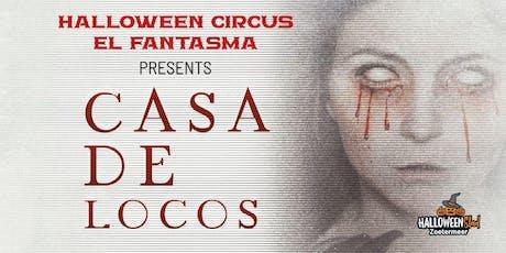 Halloween Circus El Fantasma tickets