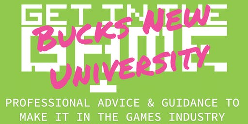 Get In The Game Careers Talks; Buckinghamshire New University