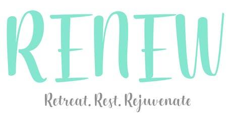 """RENEW"" - A Spiritual Retreat for Men & Women (Individuals & Couples) tickets"