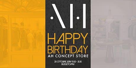 Happy Birthday AH Concept Store! biglietti