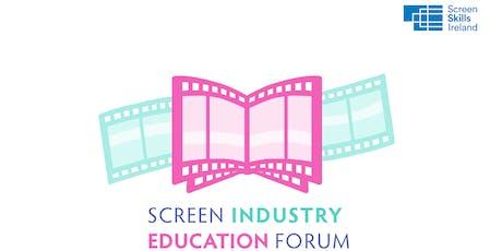 Screen Industry Education Forum 2019 tickets