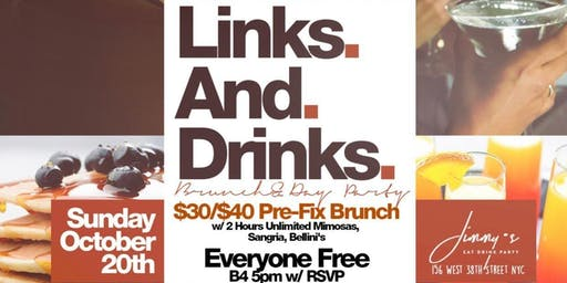 Links And Drinks Brunch & Day Party