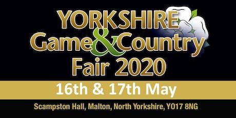 Yorkshire Game & Country Fair 2020 - Buy Public Caravan/Motorhome/Camping tickets