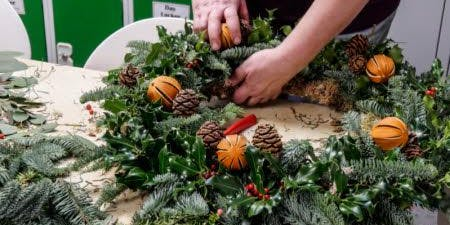 Sorry, Sold Out - Christmas Wreath Workshop