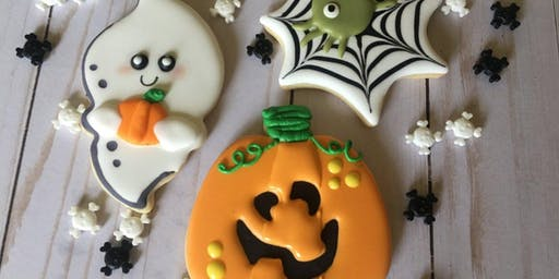 Beginner Sugar Cookie Decorating Class-Halloween Theme
