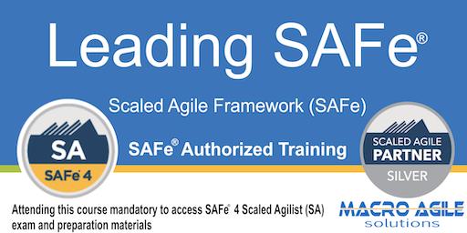 Leading SAFe® (Scaled Agile Framework) Training in Montreal