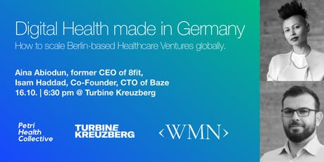 Digital Health made in Germany – How to scale Berlin-based Healthcare Ventures Globally tickets