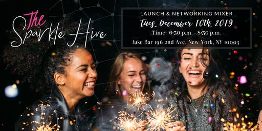 The Sparkle Hive Launch Mixer