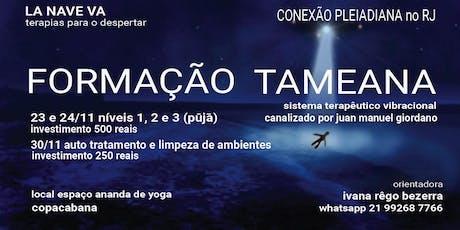 FORMAÇÃO COMPLETA EM TAMEANA ingressos