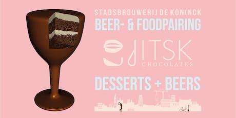 Stadsbrouwerij De Koninck meets Jitsk Chocolates tickets