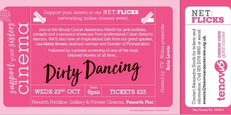 Net Flicks - Tenovus Cancer Care's Breast Cancer Awareness Event tickets