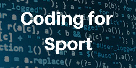 CODING FOR SPORT – AN INSTITUTE OF CODING BOOTCAMP tickets