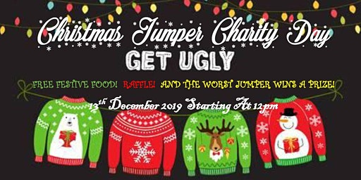 Christmas Jumper Charity Day for Pied Piper Appeal