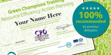 Green Champions Training (Perth) tickets
