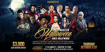 Halloween Goes Hollywood