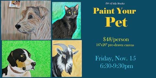 Paint Night: Paint Your Pet