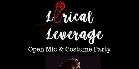 LYRICAL LEVERAGE OPEN MIC & HALLOWEEN  COSTUME PARTY tickets