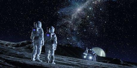 Mit neuer Innovationskraft zum 8. Kontinent - Der Mond Tickets