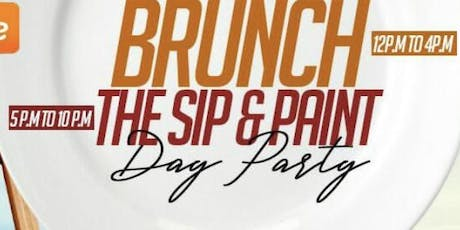 Brunch/Sip&Paint Day Party tickets