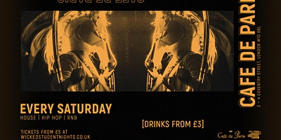 Wicked+Student+Nights++every+Saturday+at+Cafe