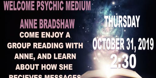 Group Reading with Psychic Medium Anne Bradshaw