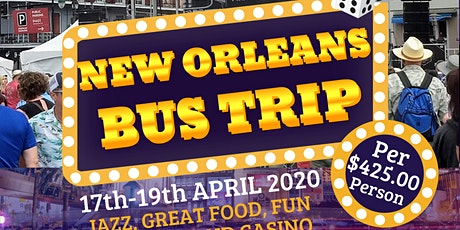 New Orleans Bus Trip! tickets