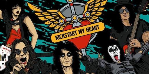 Kickstart My Heart - 80s Metal & Power Ballads Night (Glasgow)