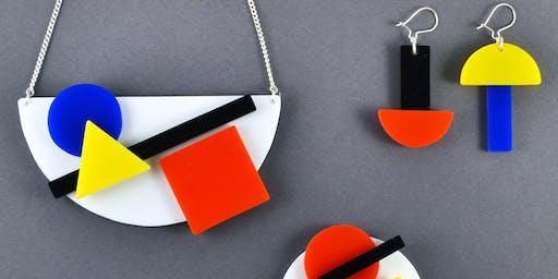 Bauhaus Acrylic Jewellery Workshop