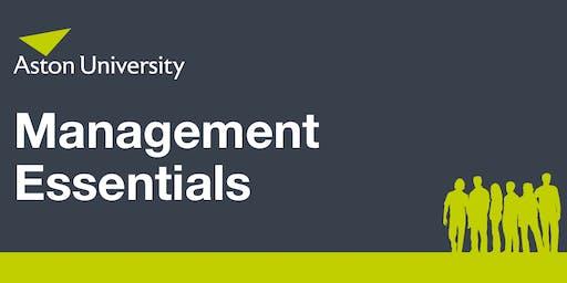 Management Essentials Forum