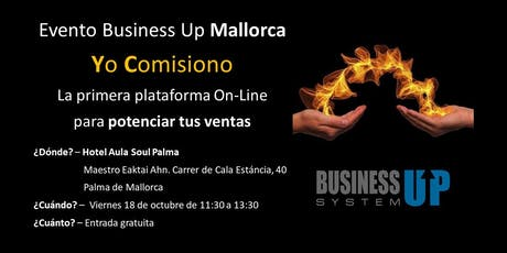 Evento Business Up PALMA DE MALLORCA (octubre) tickets