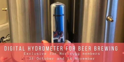 [UTSOLGT] Digitalt hydrometer til ølbrygging