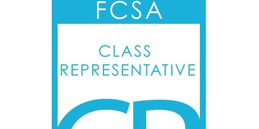 FCSA Class Rep Training 2019 - 20 Glenrothes