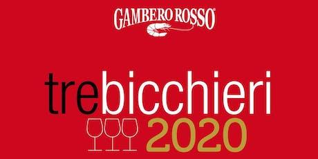 Tre Bicchieri 2020 Torino - Città del gusto Torino Gambero Rosso biglietti