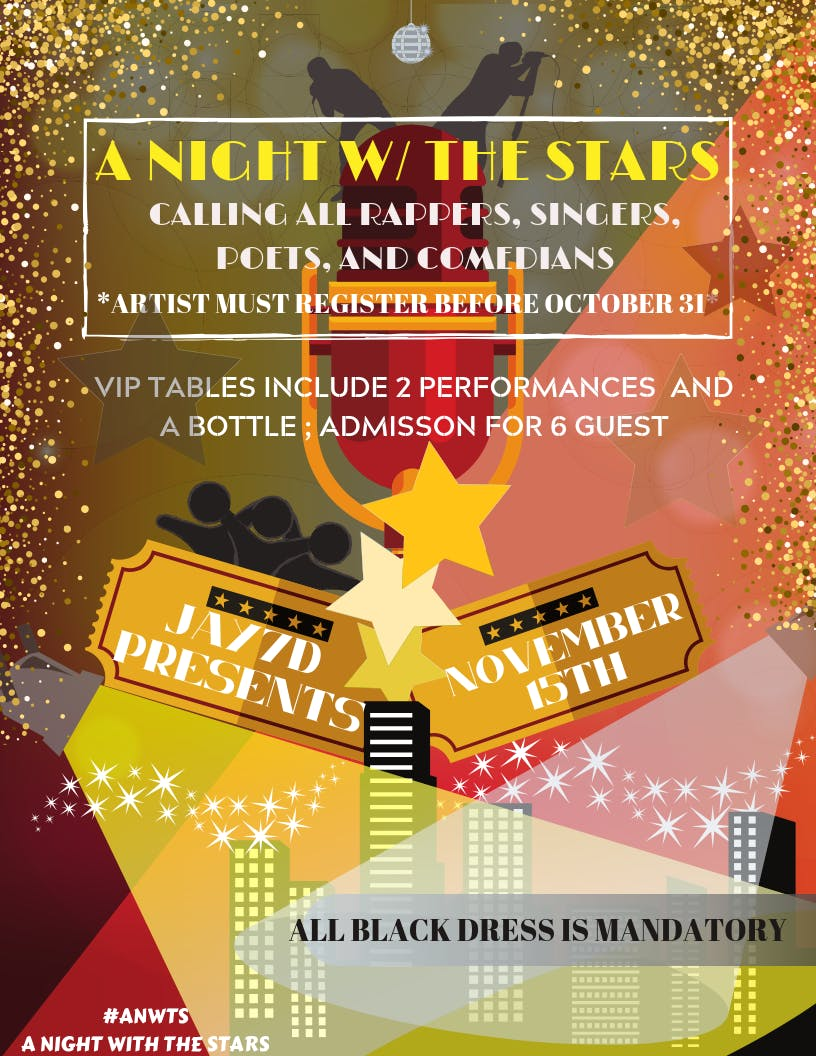 A Night w/the Stars Showcase ( Blackout)