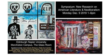 Symposium and Launch: New Research on American Literature and Neoliberalism tickets