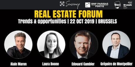 Real Estate Forum: Tendances et opportunités billets