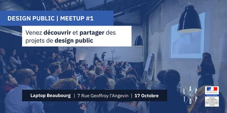 Design Public - Meetup  #1 billets