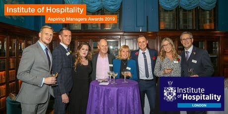 Institute of Hospitality London Aspiring Manager Awards 2019 tickets