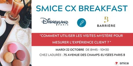 Smice CX Breakfast tickets