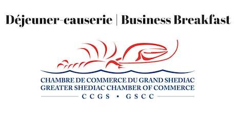 Déjeuner-causerie / Business Breakfast tickets