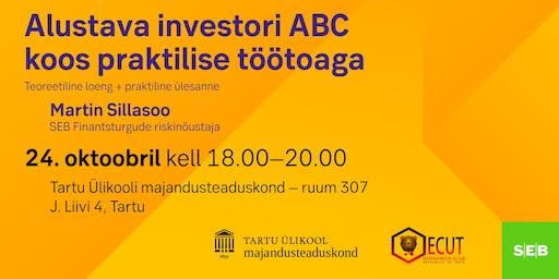 Alustava investori ABC koos praktilise töötoaga
