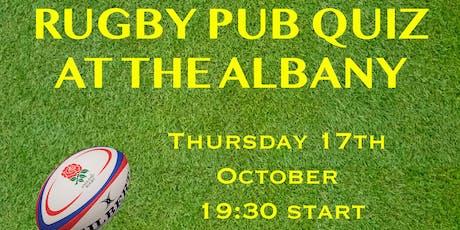 Rugby Pub Quiz tickets