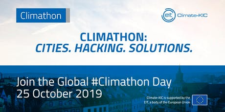 Climathon 2019 - The Global Climate Crisis Problem Solving Challenge tickets