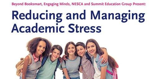 Reducing and Managing Academic Stress