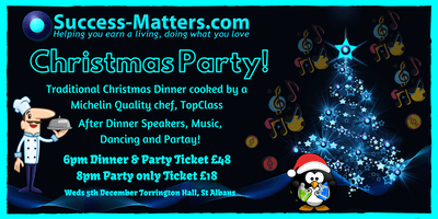Business Success Matters Christmas Party 2019