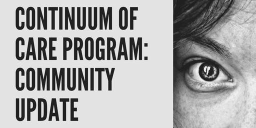 Anti-Human Trafficking Community Update; Continuum of Care Program